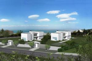 Christakis Oikonomou and Associates, family homes in Thessaloniki, Pylaia, sea view