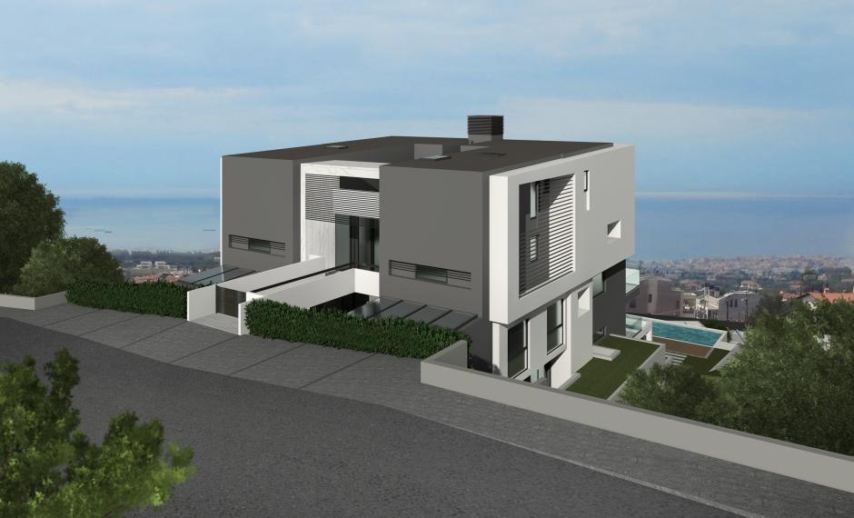 Christakis Oikonomou and Associates, sea view, residences Panorama Thessaloniki